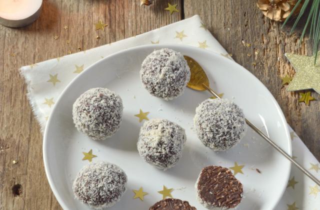 Truffes chocolat & noix de coco - Photo par Angélique Roussel pour Soy