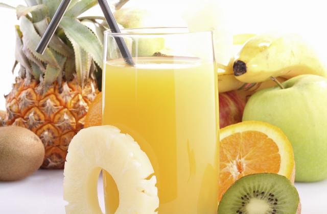 Punch aux fruits - Photo par ladolcevita