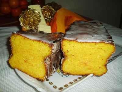Cake potimarron et chocolat blanc - Photo par newelm