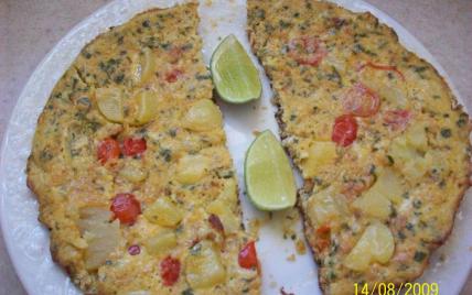 Torilla espagnole aux pommes de terre et aux oignons - Photo par 750g