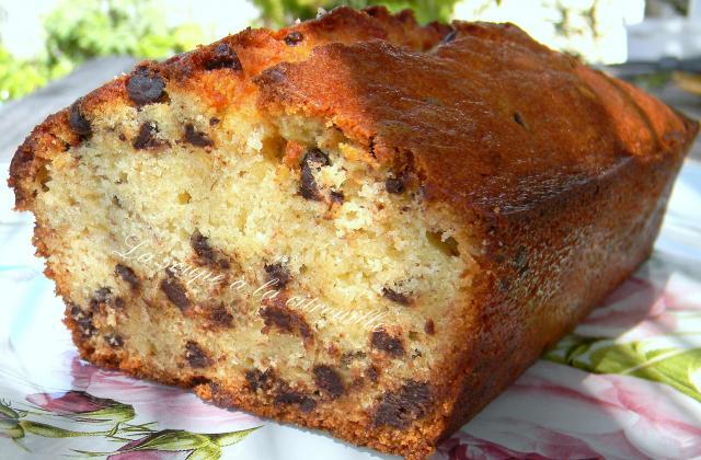 Banana loaf, cake - Photo par La soupe à la citrouille