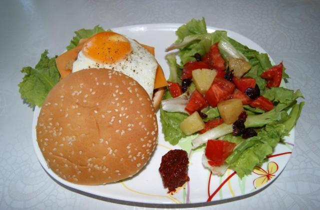 Burger sauce barbecue - Photo par sunshic