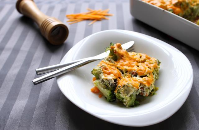 Gratin léger de légumes d'hiver - Photo par Amora