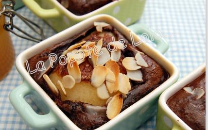 Poires en gratin chocolaté et épicé... - Photo par lapopotedelolo