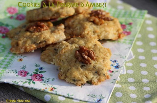 Cookies à la Fourme d'Ambert - Photo par linoue