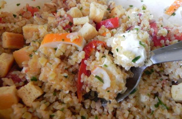 Boulgour en salade - Photo par La bonne soupe