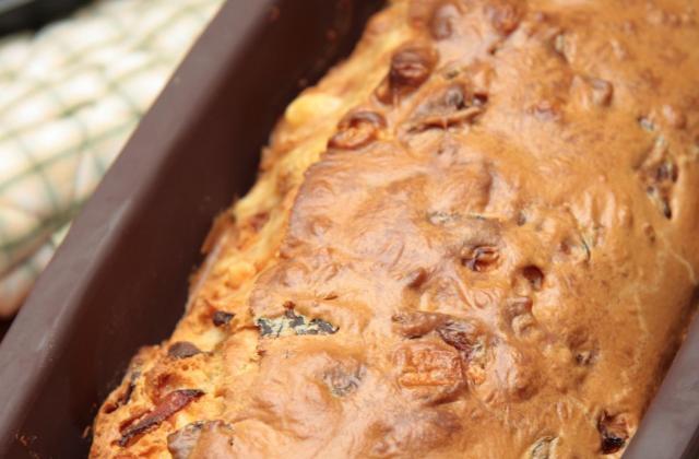 Cake Etorki, tomate et jambon de dinde - Photo par 750g