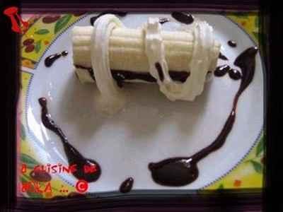 Banane chocolatée - Photo par katyma