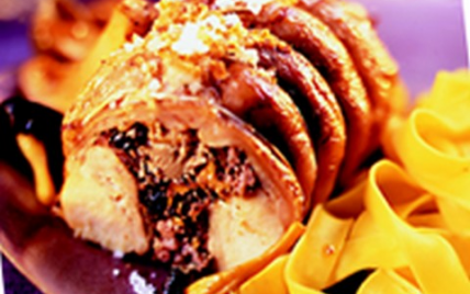 Râbles de lapin farcis aux morilles et foie gras - Photo par CLIPP