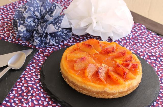 Cheese cake à l'orange sanguine - Photo par Karen V