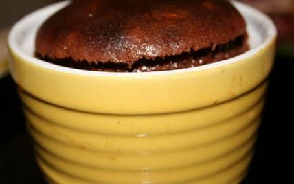 Cœur coulant chocolat & cèpes - Photo par navaan