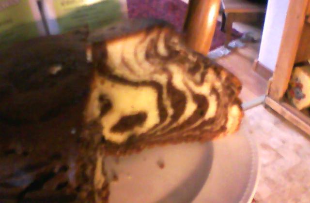 Zebra cake à la vanilline  - Photo par vogtli