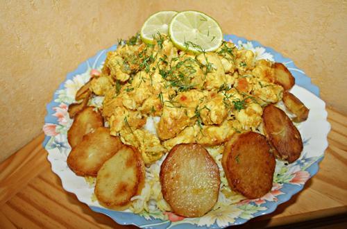 Biryani de poulet (recette indienne ) - Photo par Aux bons p'tits prat