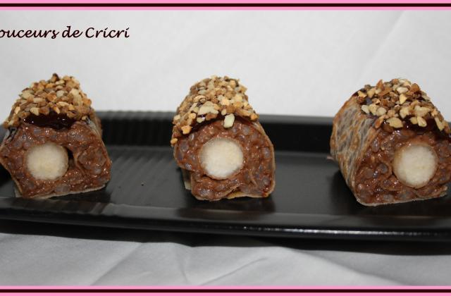 Maki poire chocolat - Photo par Cricri les petites douceurs