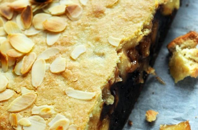 Brookie amandes pommes Antarès® et chocolat - Photo par Dorian Nieto
