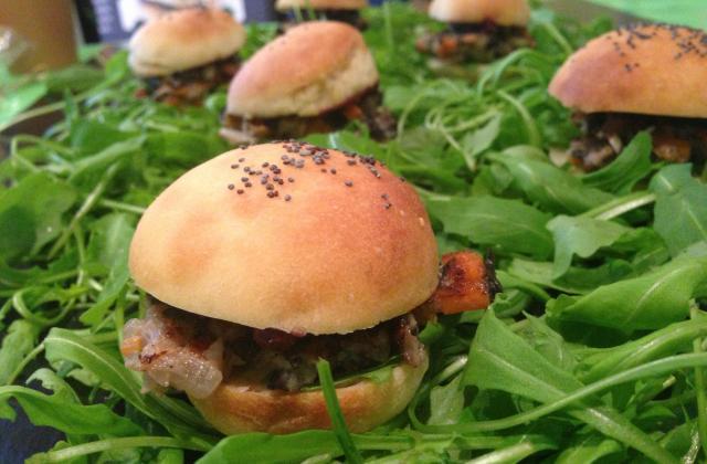 Mini burgers d'escargot à la bourguignonne - Photo par Eat Design