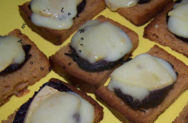 Toasts pain d'épice boudin - Photo par sandriH7H