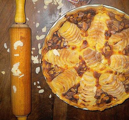 Tarte bourdaloue aux poires St Mamet - Photo par La petite cuisine de Sabine