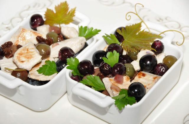Dinde aux raisins - Photo par CIDEF