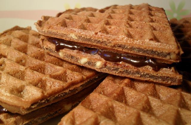 Gaufres chococahuètes - Photo par Magloo