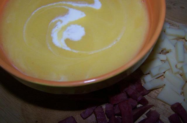 Soupe citrouille - Photo par sandriH7H