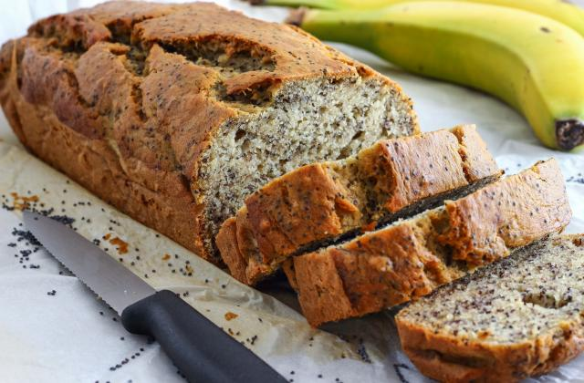 Banana bread aux graines de pavot - Photo par 750g