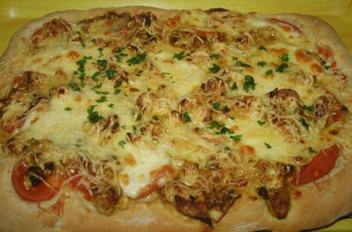 Pâte à pizza maison (pizza hut ) - Photo par Aux bons p'tits prat