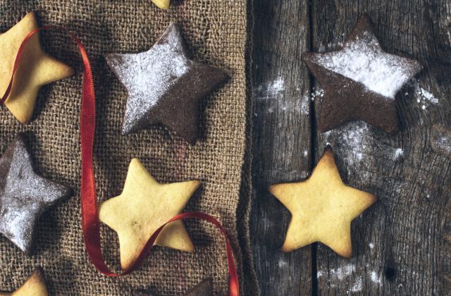 Etoiles de Noël maison - Photo par 750g