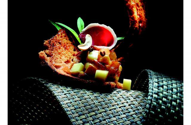 Magret de canard sur pain d'épice au chutney de beaufort - Photo par Beaufort