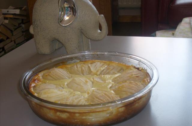 Gâteau poires-ricotta - Photo par aubril