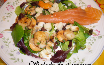 Salade de saint jacques - Photo par kimnar