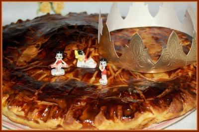 Galette des rois à la mirabelle - Photo par newelm