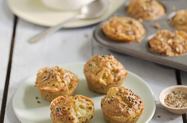 Muffins au chèvre et à la soupe - Photo par Aurélie Jeannette