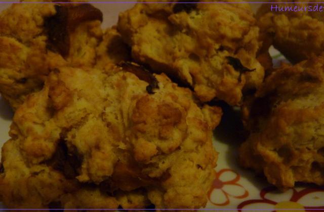 Cookies aux poivrons marinés et au saumon - Photo par celine23