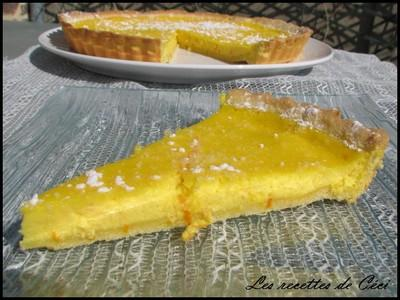 Tarte à la ricotta et à l'orange - Photo par recettesceci