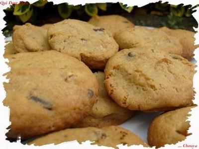 Cookies abricot coco & choco - Photo par chouya