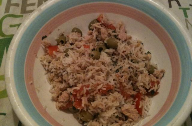 Salade de riz sans maïs  - Photo par isabelOTY