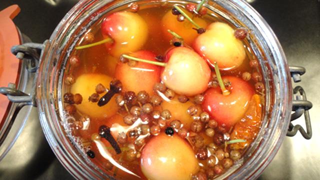 Cerises au vinaigre de miel - Photo par Invité