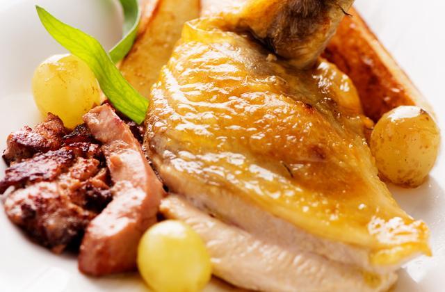 Pintade au foie gras - Photo par CIP