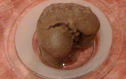 Moelleux chocoramel aux pignons cœurs fondants chocolat - Photo par coulhon