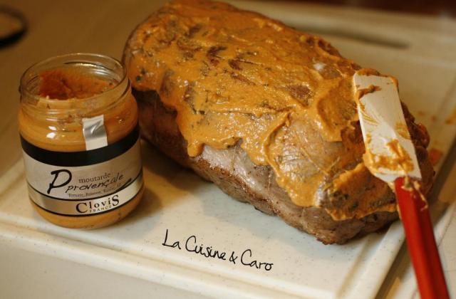 Rôti de porc à la Moutarde provençale - Photo par la cuisine caro