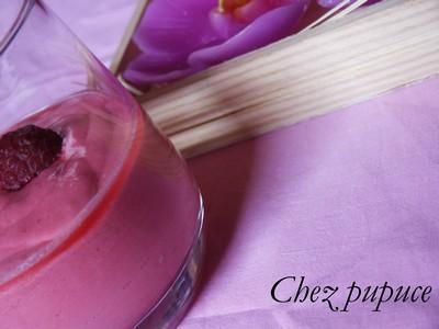 Crème de framboises - Photo par myriamn5
