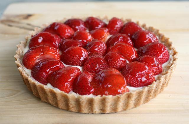 Tarte aux fraises - Photo par Jeanne la malice