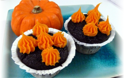 Marbrés choco-potimarron façon cupcakes - Photo par delf745