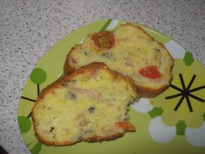 Cake roquefort - tomates - jambon - Photo par stepharbR