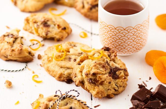 Cookies moelleux/choco/orange/abricot - Photo par Marque Repère