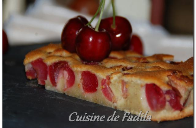 Clafoutis aux cerises et la pâte de pistache maison - Photo par FadilaB