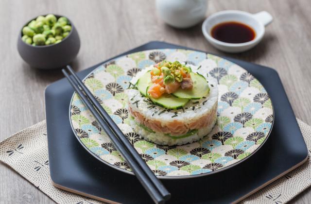 Sushi Cake - Photo par 750g