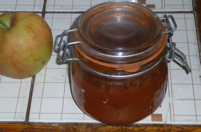 Compote de pommes vanillée - Photo par MEVI91100