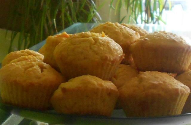 Muffins kaki noisette - Photo par kiki gateau